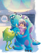 Monster Inc. test painting (Disney Publishing)