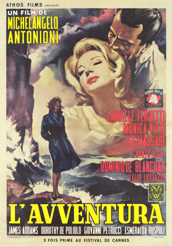 L'Avventura (1960) Directed by Michelangelo Antonioni