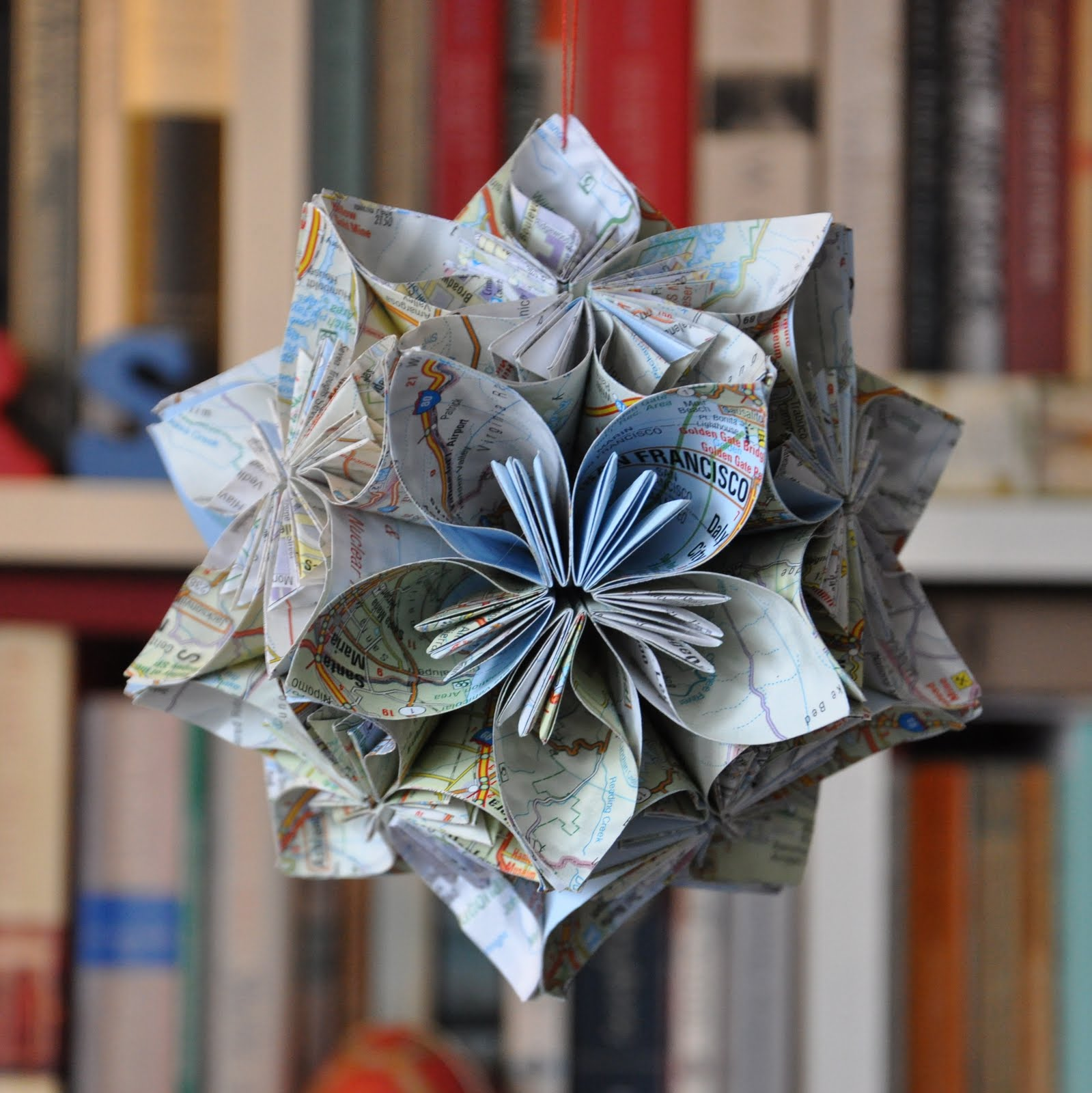 Makey Vicky Origami Flower Ball