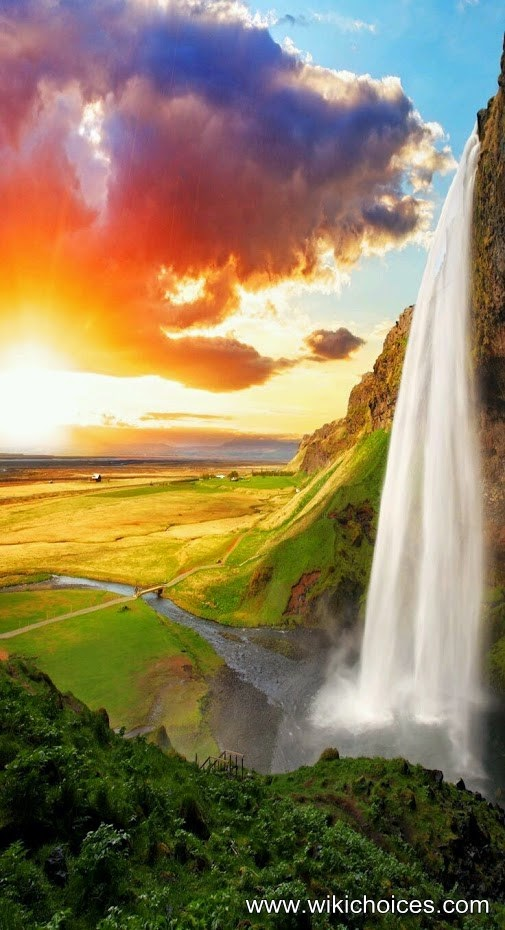 Photos of the most beautiful waterfalls in the world