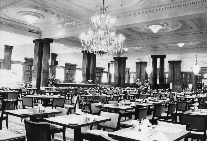 John Wanamaker Building Crystal Tea Room