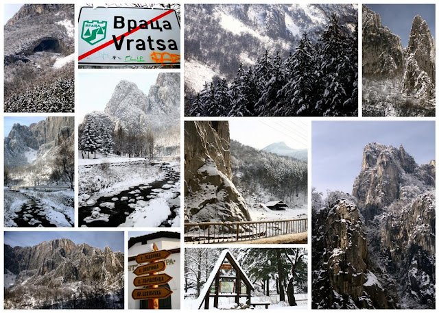 winter collage from Vratsa