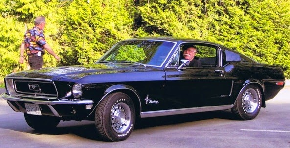 Quot Tall Quot Ted Farr 1968 Mustang 2 2 Fastback Bush Halpenny