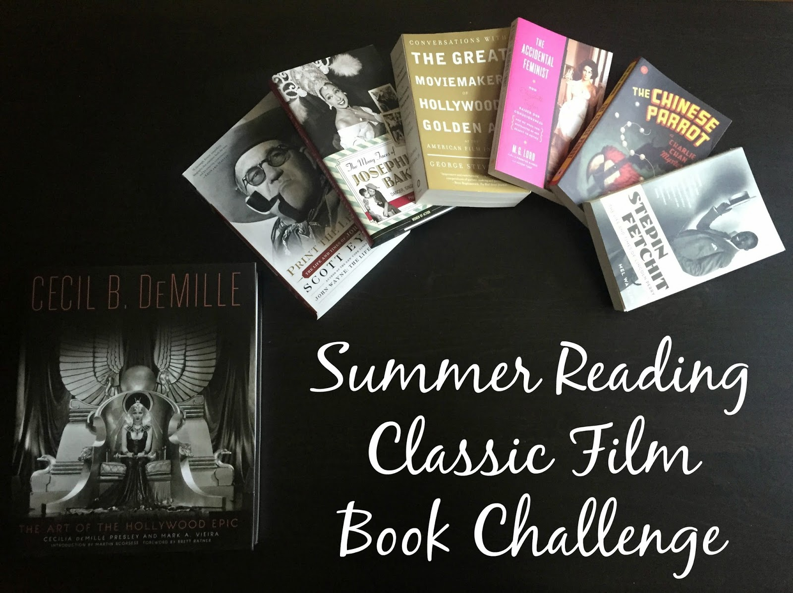 2015 Summer Reading Classic Film Book Challenge