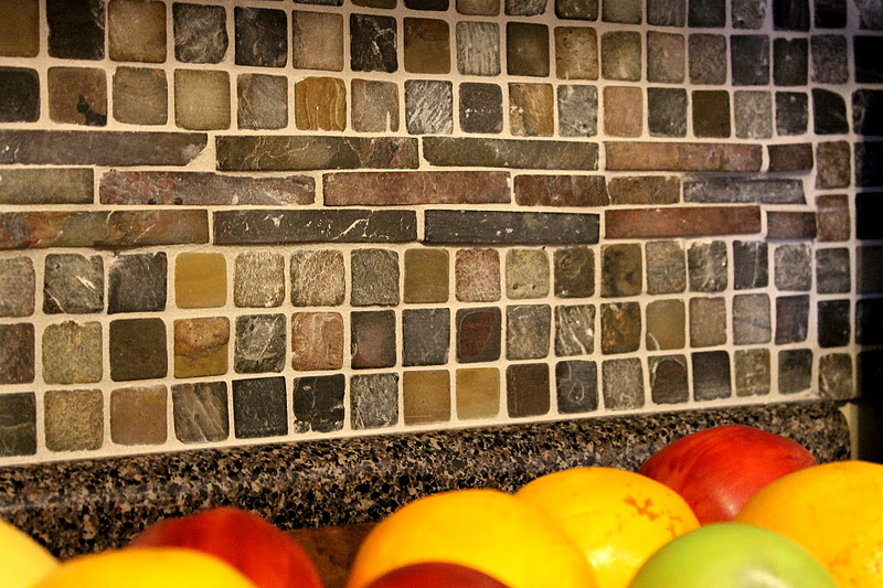 accessorize and organize diy kitchen tile backsplash