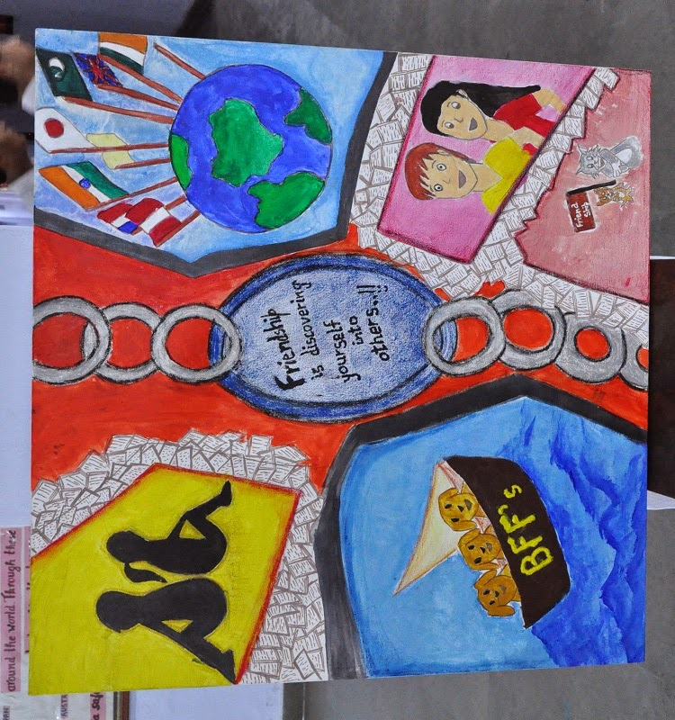 Friendship Day School Conducted A Poster Competition