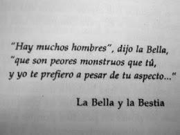 La Bella y la Bestia.