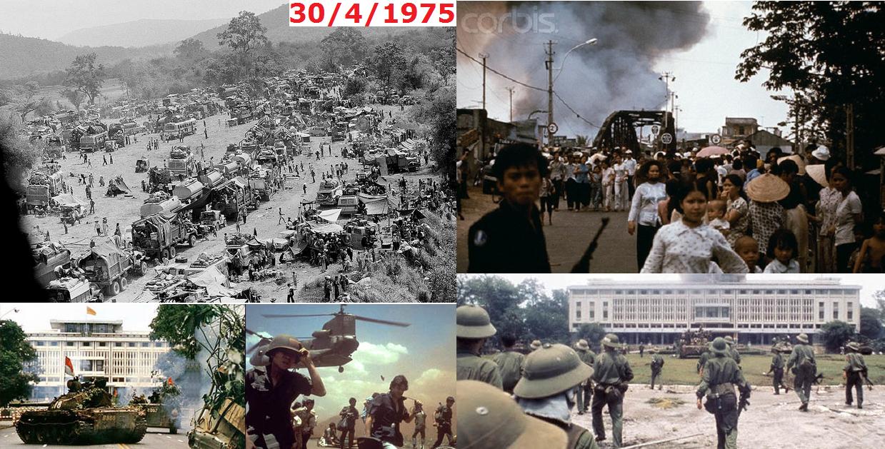 QUỐC HẬN 30 tháng 4 năm 1975