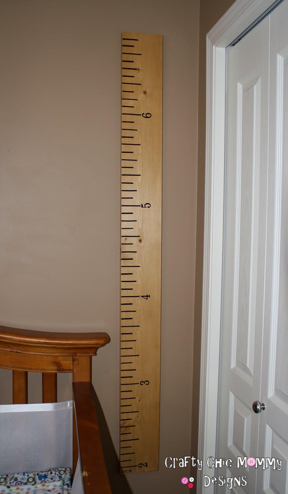 Crafty chic mommy pb ko giant ruler growth chart pb ko giant ruler growth chart nvjuhfo Gallery