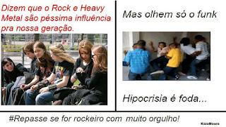 Rock ou funk, qual é realmente uma má influencia para nossa cultura