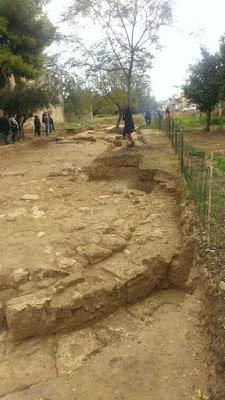 Επίσκεψη του κ. Μπαλτά σε αρχαιολογικούς χώρους και μνημεία στα Μέγαρα Αττικής