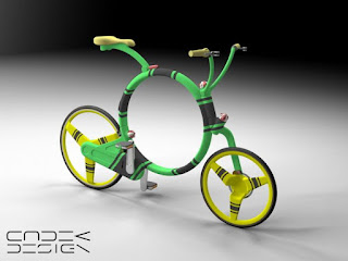 Locust Folding Bike Design