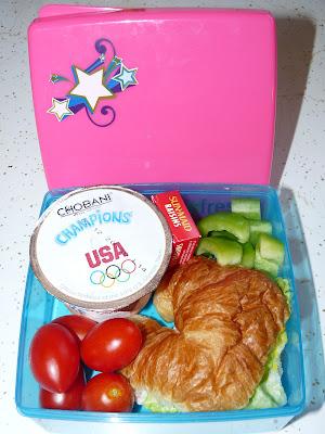 chobani croissant bento lunch