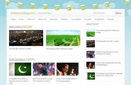 Top 10 premium templates SEO friendly and optimized ! 2. Pakistan Mag...