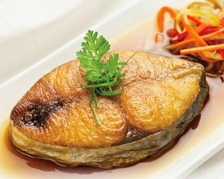 Stir-fried Fish with Ginger and Spring Onion (Cá Chiên với Gừng và Hành)3