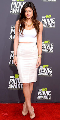 Kylie Jenner, MTV movie awards, red carpet, fashion