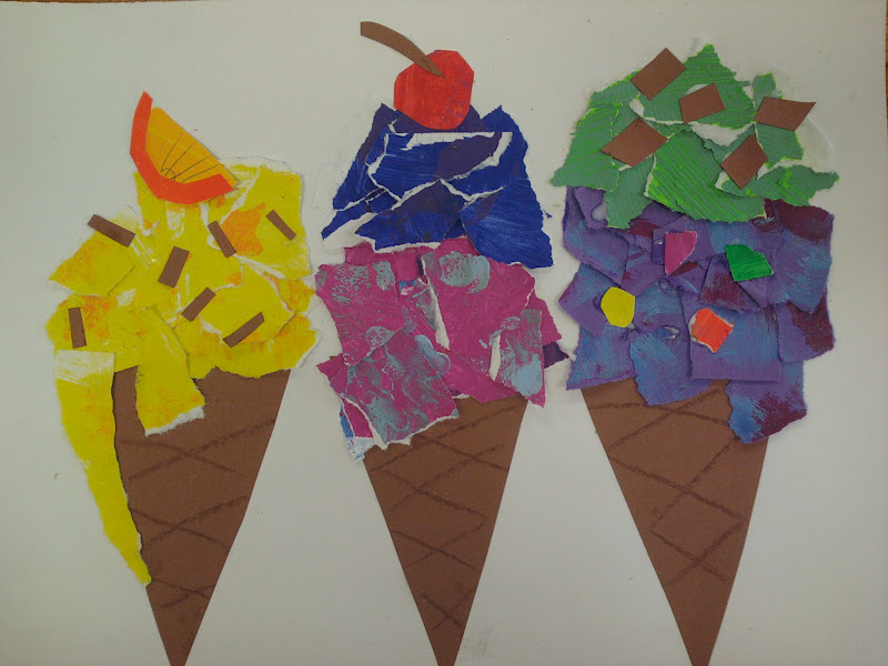 ARTASTIC! Miss Oetken s Artists: We scream for Ice cream ...