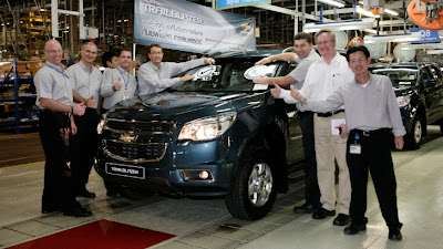 2013 Chevrolet Trailblazer Production Begins in Thailand