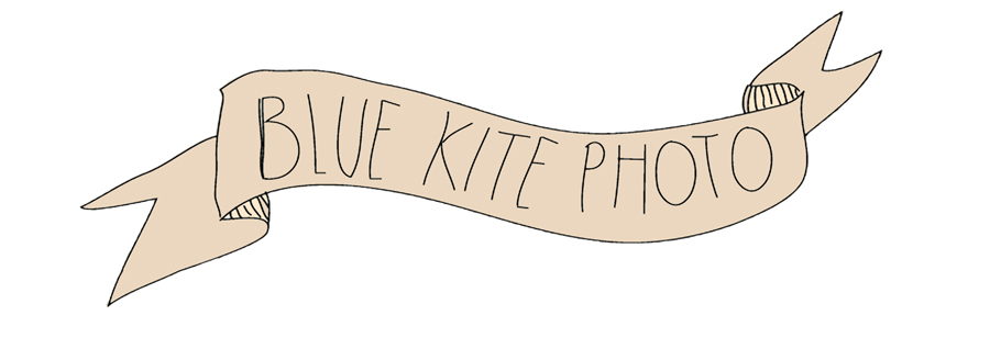 Blue Kite Photo