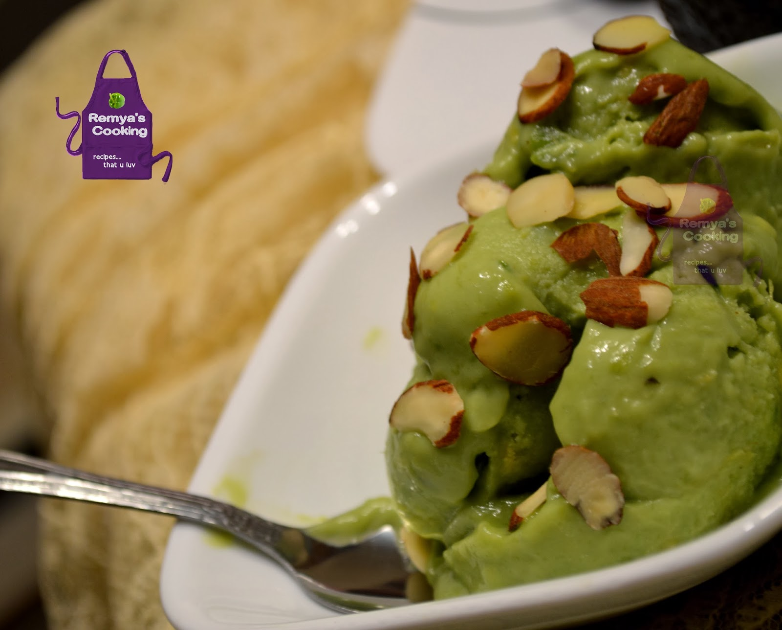 Avacado Ice Cream