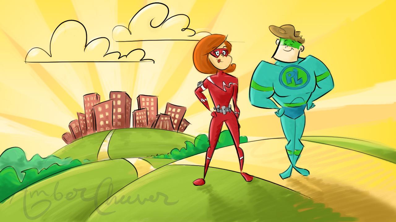 hero and sidekick