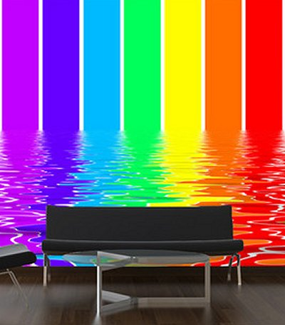 Rainbow Wall And Glass Murals From Your Wall Decal Deco Shop