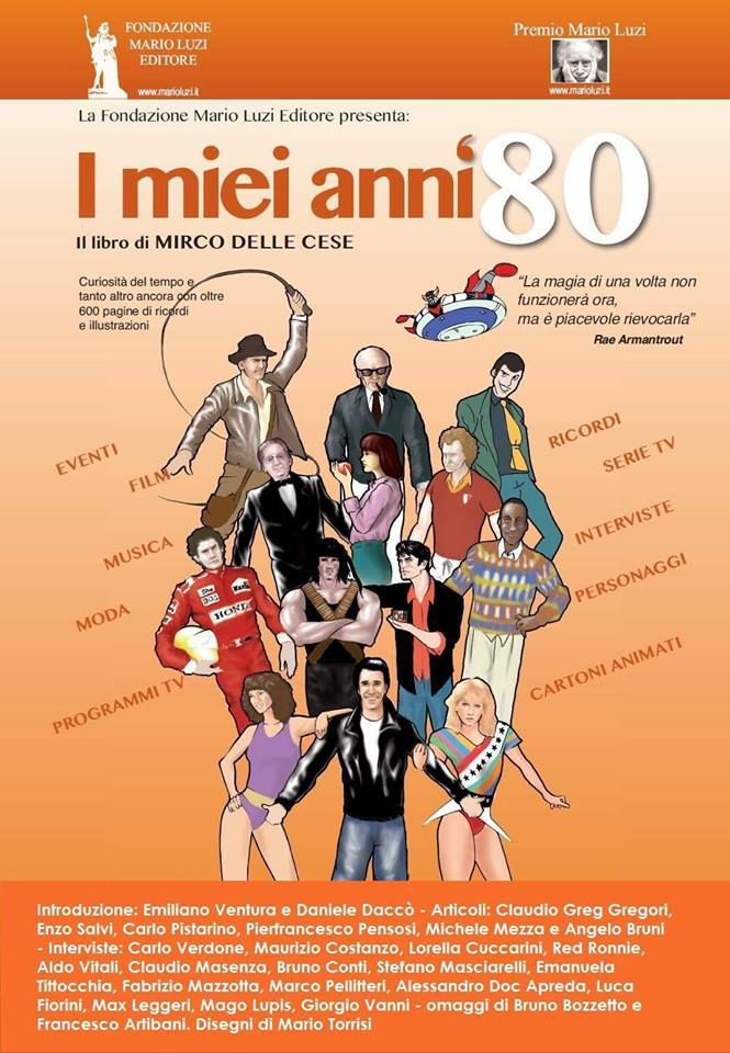 Libro - I miei anni 80