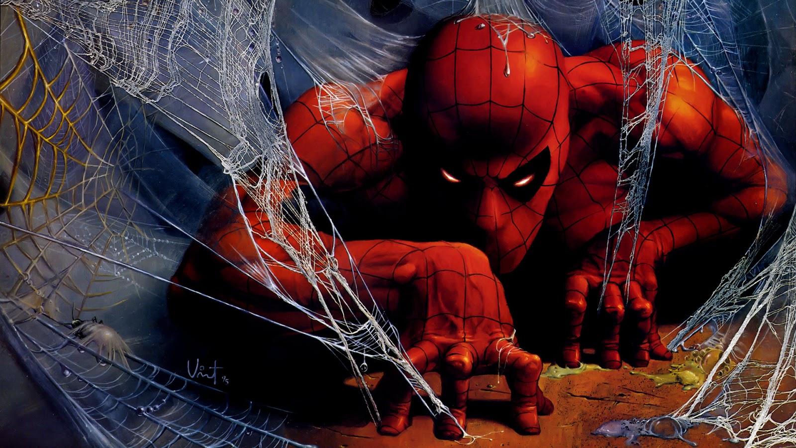 Dangerous Spiderman HD  Web Art Images