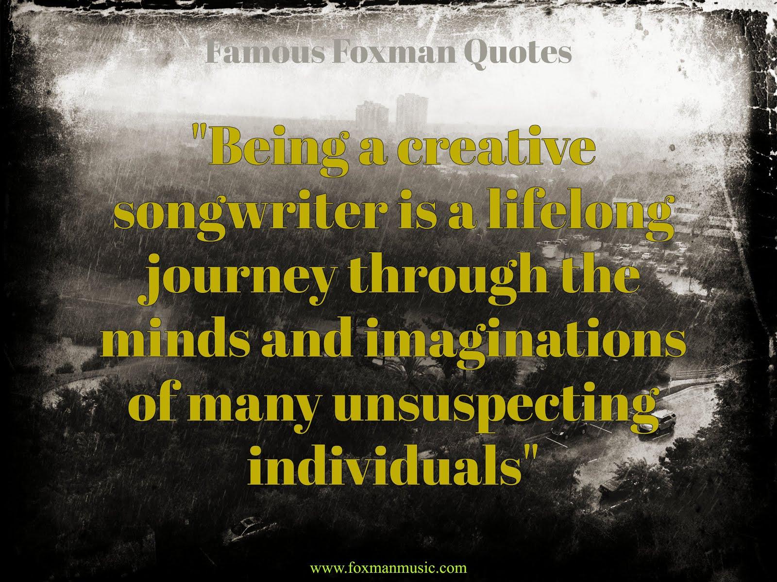 Foxman Quote