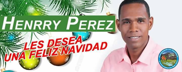 Mensaje Navideño de Henrry Perez.