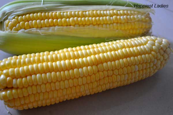 Spicy sweet corn cob
