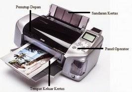Bagian Komponen pada Printer