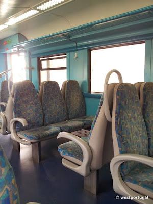 на поезде в Лиссабон