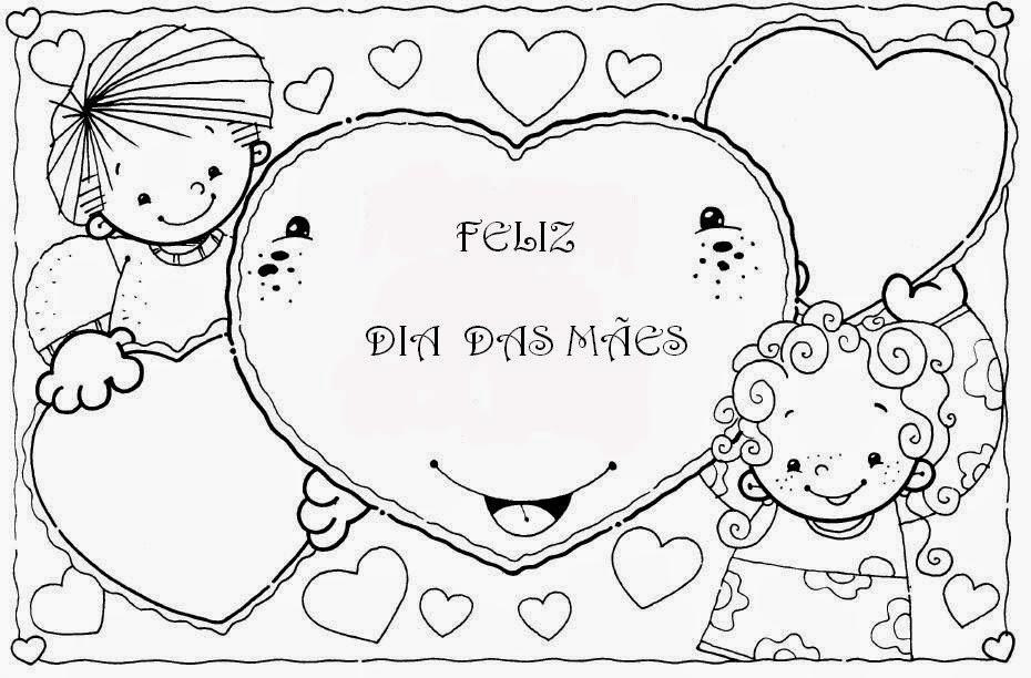 Coração Feliz dia das mães