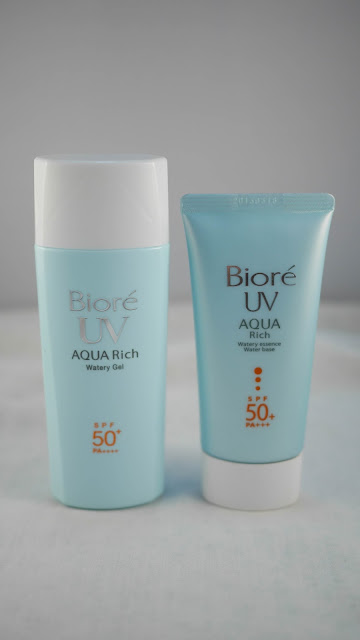 popiah Bioré UV Aqua Rich Watery Gel review singapore