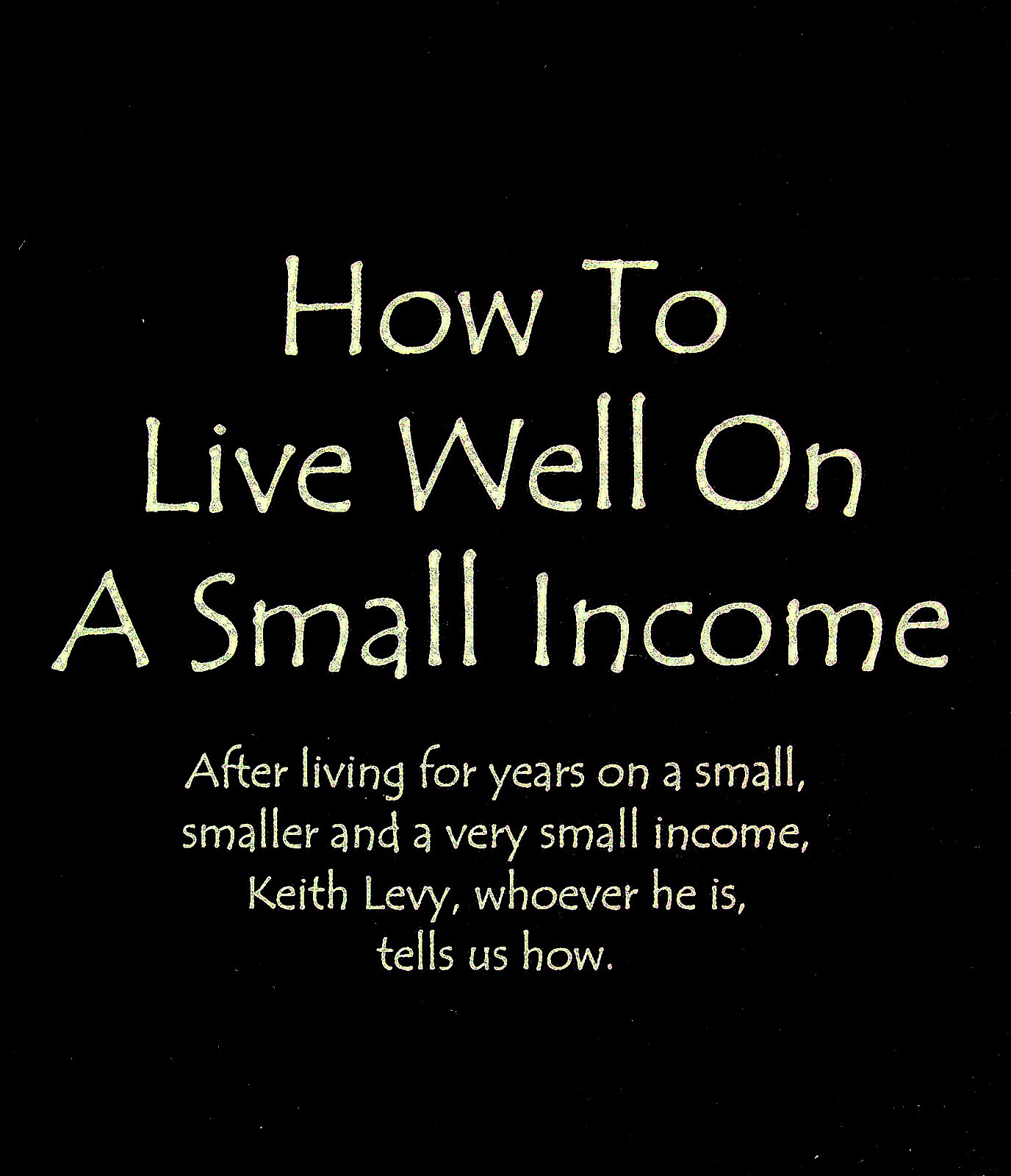 How to live well 11