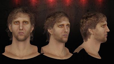 NBA 2K13 Dirk Nowitzki Cyberface Mods
