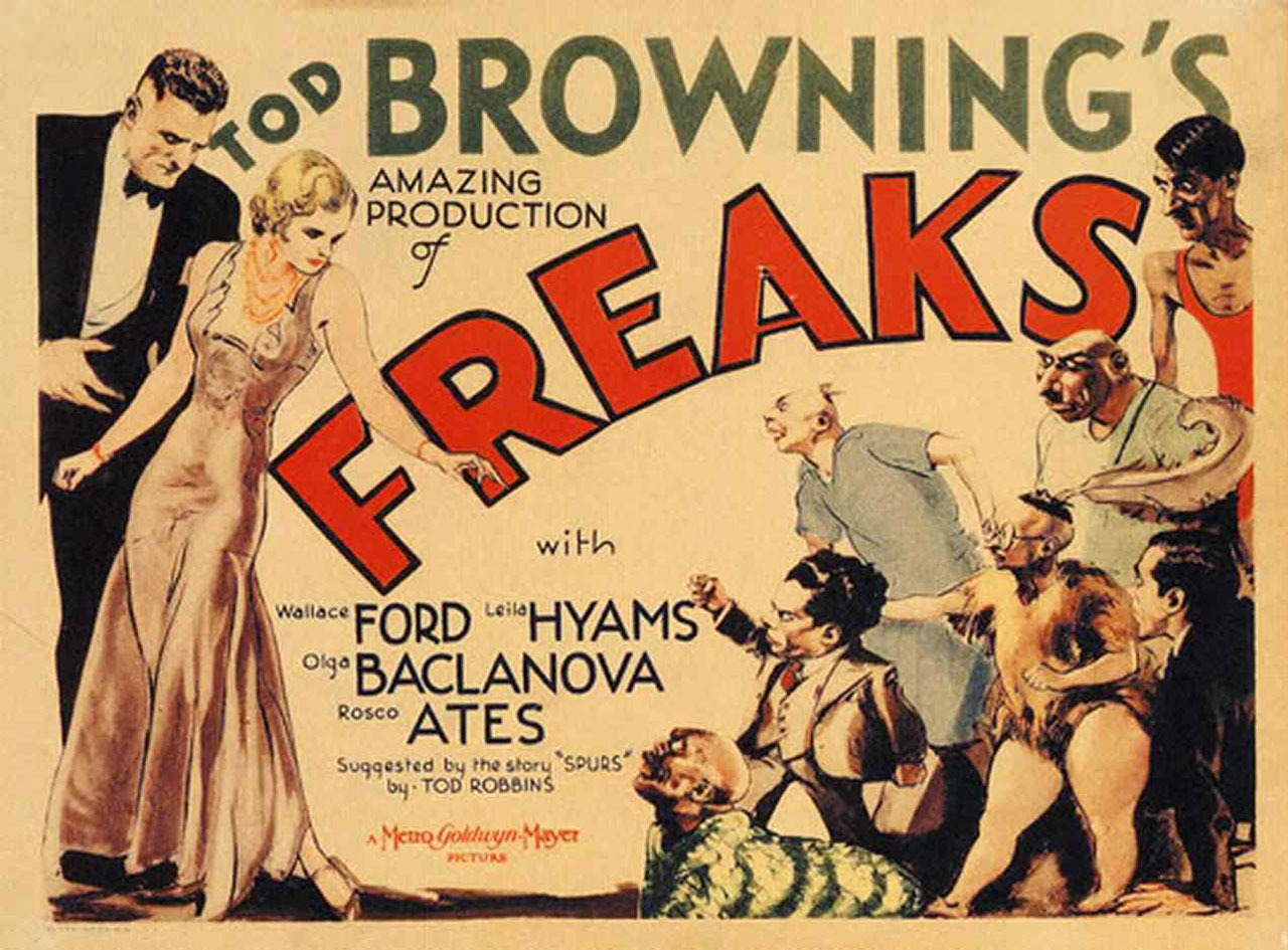 "American Hauntings: American Sideshows: Tod Browning's ""Freaks"""