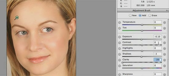 Skin Smoothing with Camera Raw Filter in PS CC  tutorial
