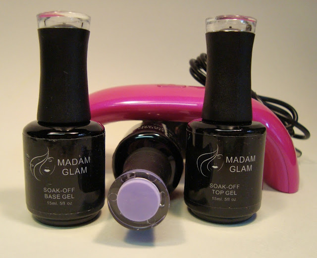 Madam Glam Soak-off Gel Nail Polish System