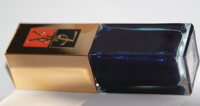 44 Moonlight blue Yves Saint Laurent YSL test swatch avis essai blog id=