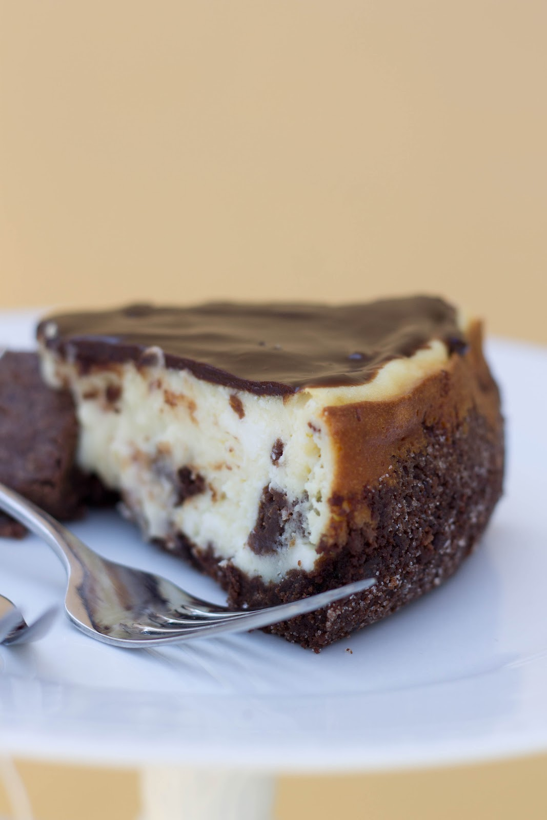 The Year of The Cookie: Brownie Mosaic Cheesecake