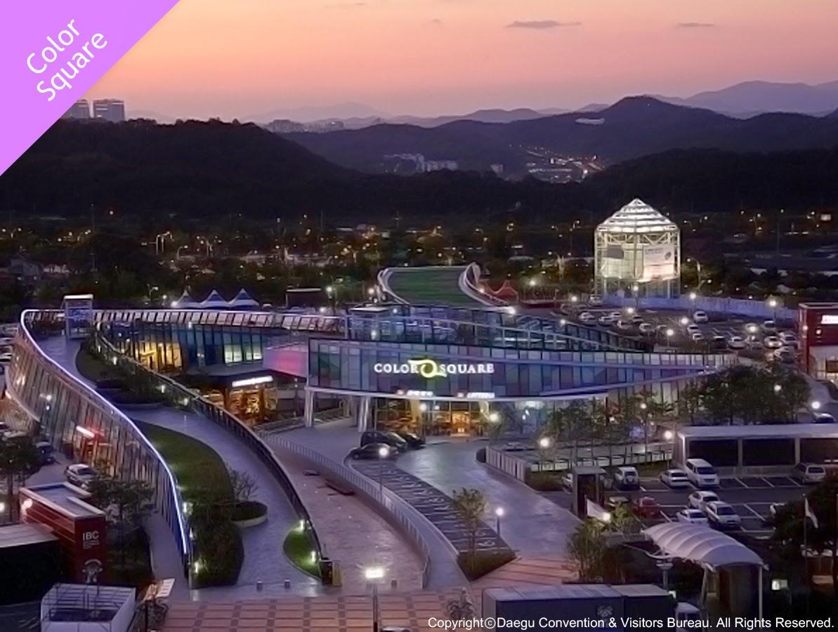 Shopping Areas in Daegu-Color Square, Suseong-gu