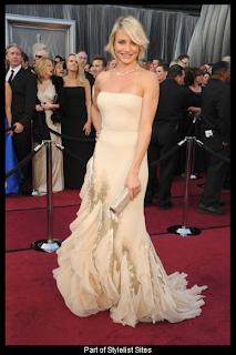 Oscars 2012 Cameron Diaz in Gucci