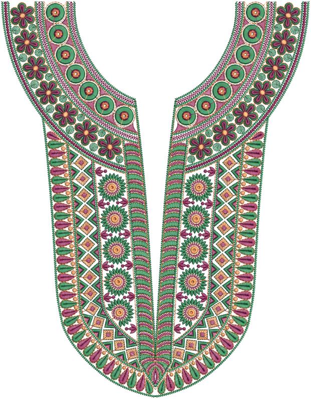 Latest a z neck embroidery designs embdesigntube