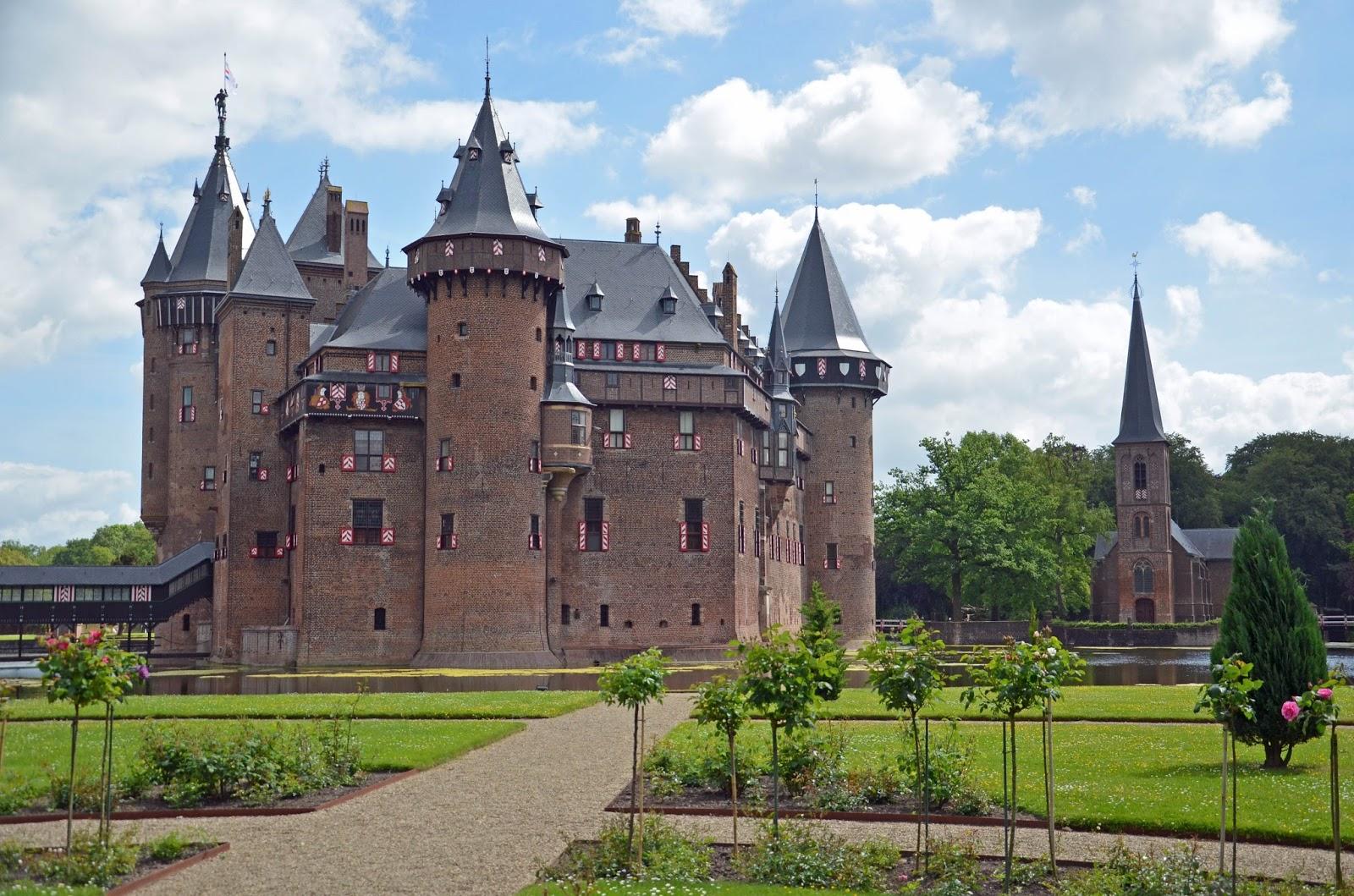 We Took the Road Less Traveled Utrecht Netherlands Castle De Haar