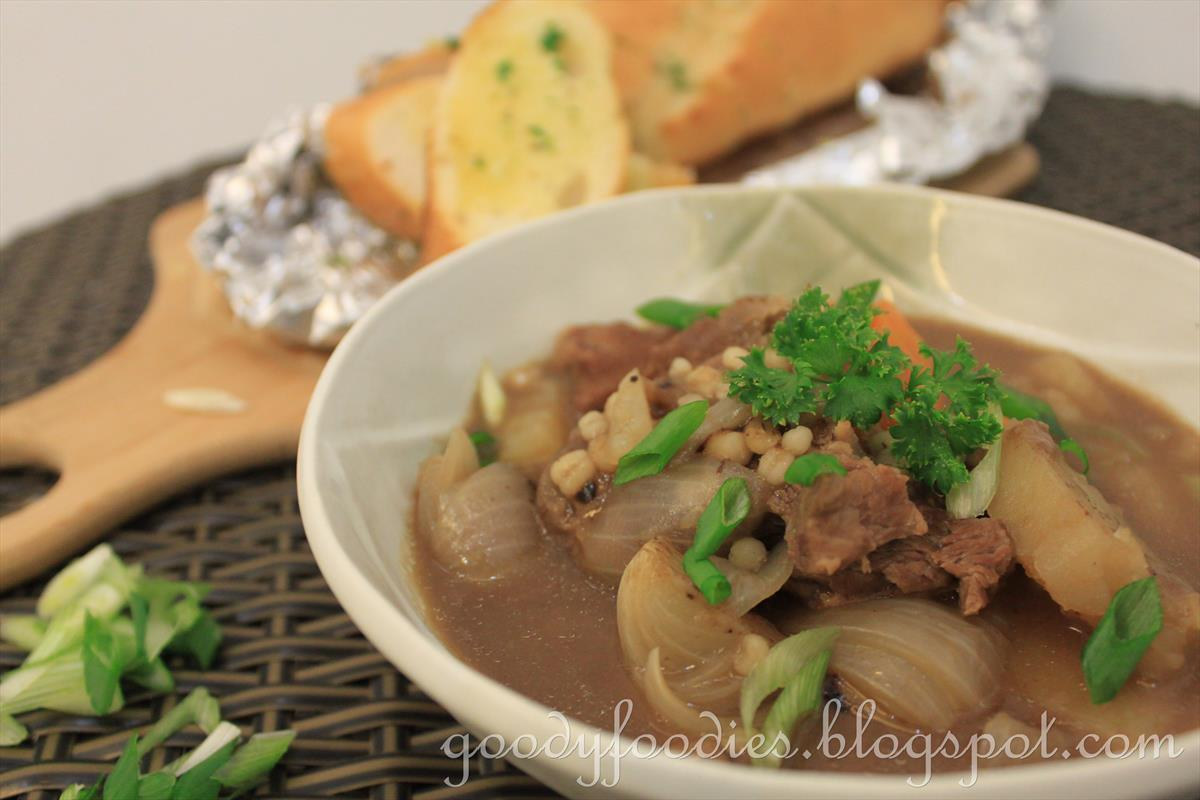 GoodyFoodies: St. Patrick's Day Recipe: Irish Lamb Stew ...