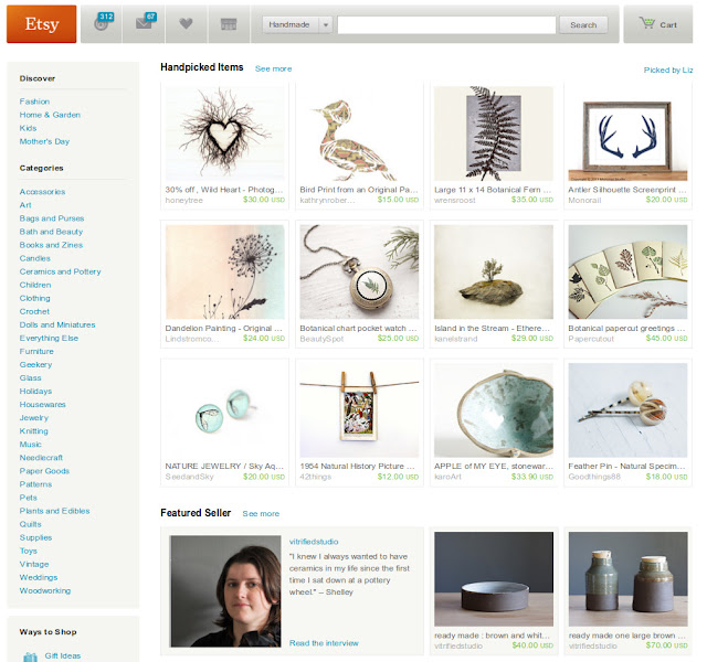 etsy front page earth day