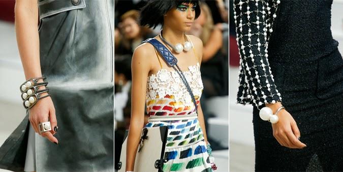 Perlas - Chanel primavera-verano 2014