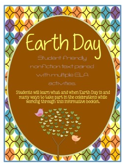 http://www.teacherspayteachers.com/Product/Earth-Day-ELA-Booklet-Short-nonfiction-OE-Responses-1110487